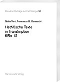 Hethitische Texte in Transkription KBo 12