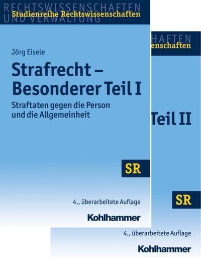 Strafrecht Besonderer Teil I + Besonderer Teil II, 2 Bde.