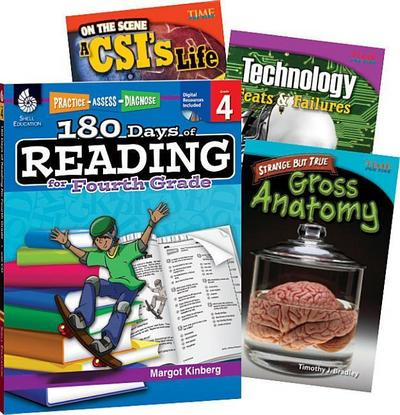 Learn-At-Home Reading: Bundle Grade 4