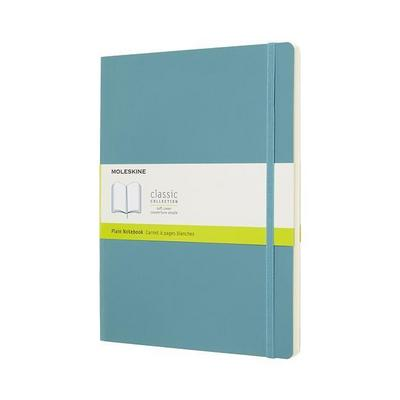 Moleskine Reef Blue Notebook Extra Large Plain Soft