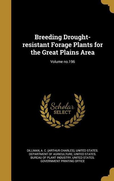 BREEDING DROUGHT-RESISTANT FOR