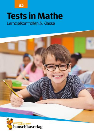 Tests in Mathe - Lernzielkontrollen 3. Klasse