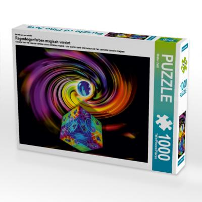 Ein Motiv aus dem Kalender Regenbogenfarben magisch vereint (Puzzle)