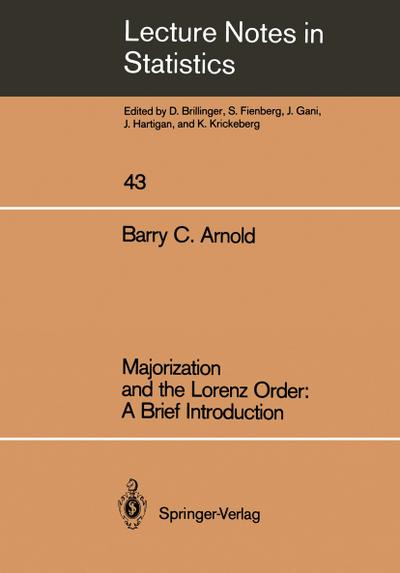 Majorization and the Lorenz Order: A Brief Introduction