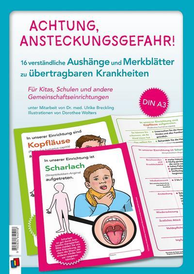 Achtung, Ansteckungsgefahr! - Verständliche Aushänge und Merkblätter zu übertragbaren Krankheiten