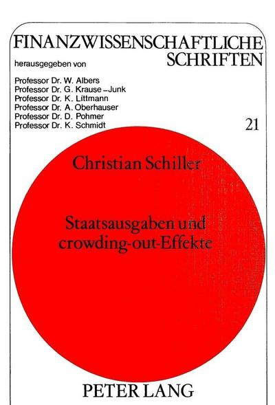 Staatsausgaben und crowding-out-Effekte