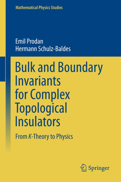 Bulk and Boundary Invariants for Complex Topological Insulators