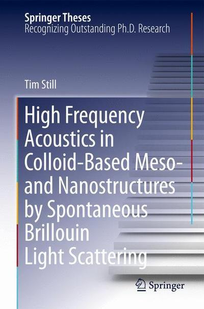 High Frequency Acoustics in Colloid-Based Meso- and Nanostructures by Spontaneous Brillouin Light Scattering