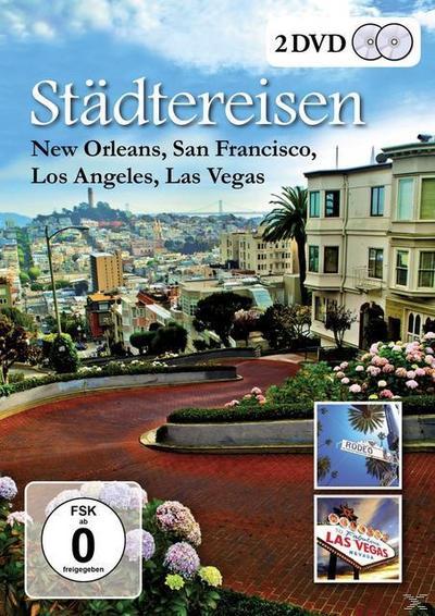 Städtereisen - New Orleans, San Francisco, Los Angeles, Las Vegas