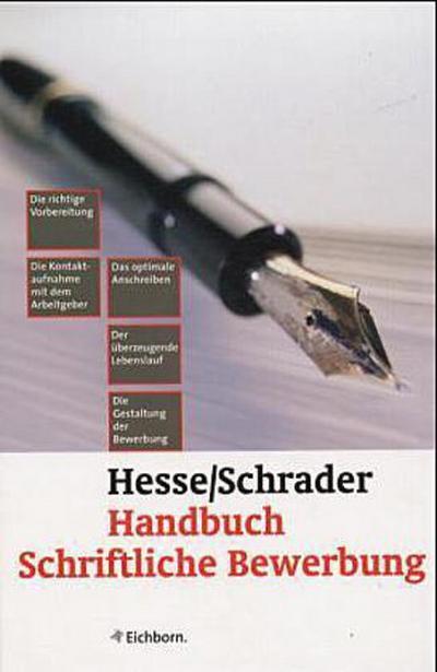 Handbuch Schriftliche Bewerbung