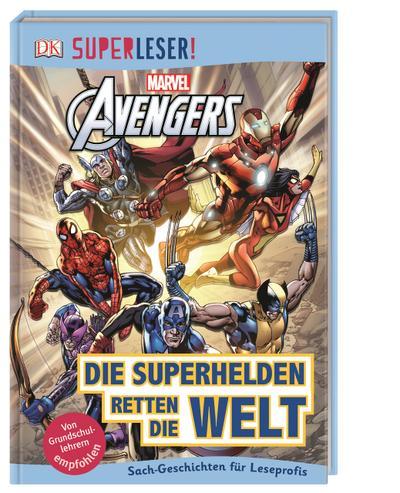 MARVEL Avengers - Die Superhelden retten die Welt