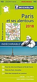 Michelin Paris et ses alentours 2018  1:90.000