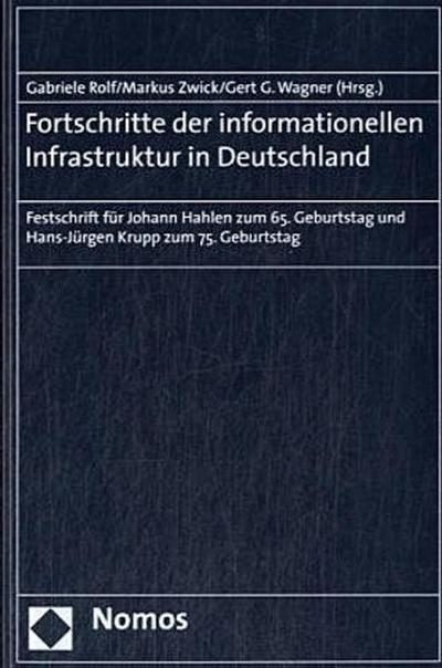 Fortschritte der informationellen Infrastruktur in Deutschland