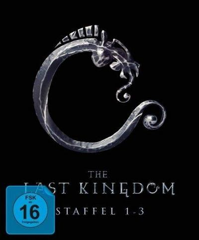 The Last Kingdom - Staffel 1-3. 13 DVDs
