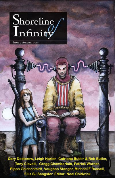Shoreline of Infinity 9 (Shoreline of Infinity science fiction magazine)