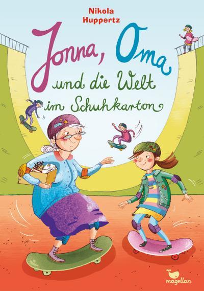 Jonna, Oma und die Welt im Schuhkarton; Ill. v. Bruder, Elli; Deutsch