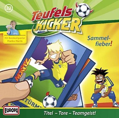 Die Teufelskicker - Sammelfieber!, 1 Audio-CD
