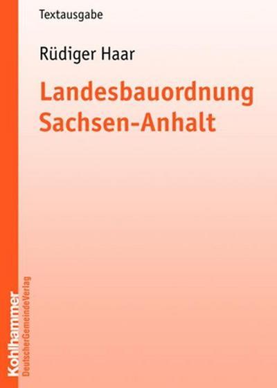 Landesbauordnung Sachsen-Anhalt (BauO LSA)