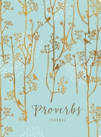 Proverbs: Printed Leatherluxe(tm) Journal
