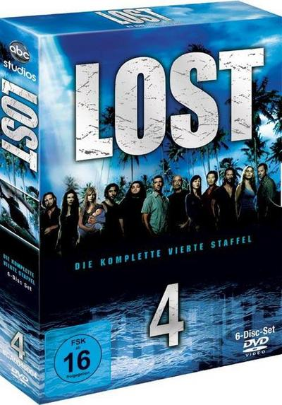 Lost - Season 4 DVD-Box