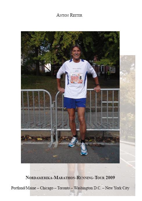 Anton Reiter / Nordamerika-Marathon-Running-Tour 2009 /  9783868705874