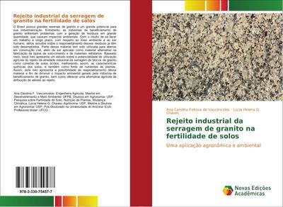 Rejeito industrial da serragem de granito na fertilidade de solos