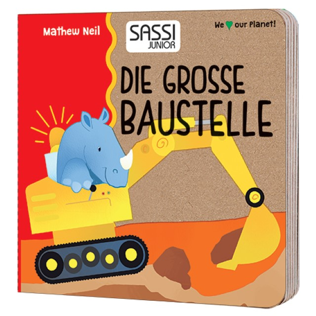 Mathew Neil Die Grosse Baustelle - Die Formen (Kinderpuzzle)