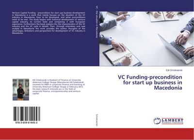 VC Funding-precondition for start up business in Macedonia