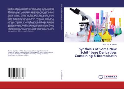 Synthesis of Some New Schiff base Derivatives Containing 5-BromoIsatin