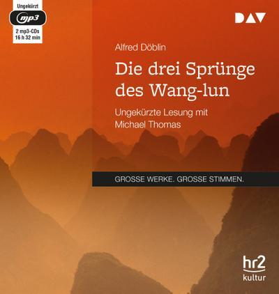 Die drei Sprünge des Wang-lun: Ungekürzte Lesung (2 mp3-CDs)