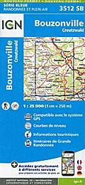 Bouzonville 1:25 000