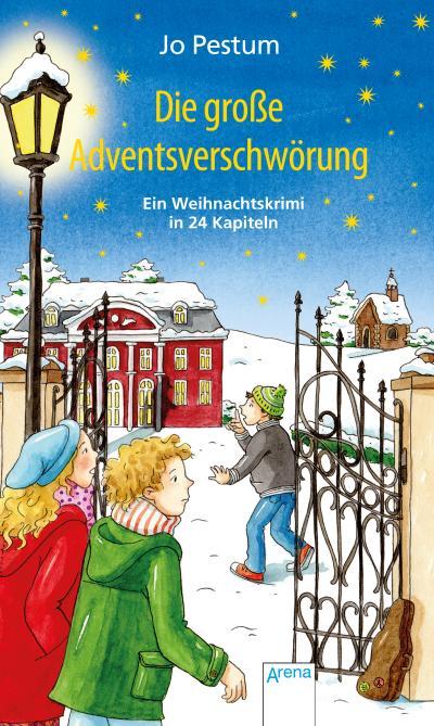 Die große Adventsverschwörung; Ein Weihnachtskrimi in 24 Kapiteln; Ill. v. Hochmann, Carmen; Deutsch