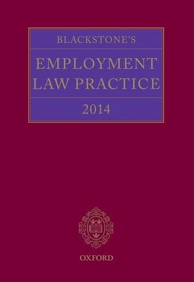 Blackstone's Employment Law Practice 2014