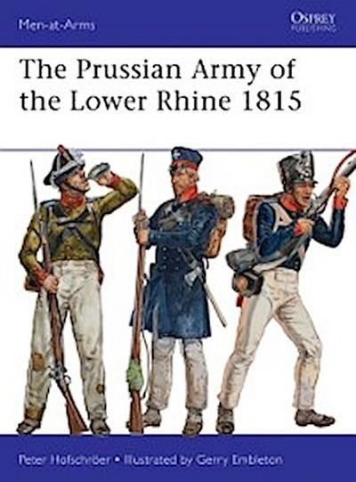 Prussian Army of the Lower Rhine 1815