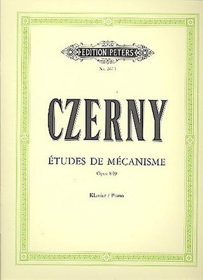Études de Mécanisme op. 849, für Klavier