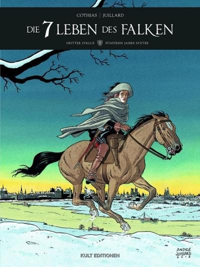 Die 7 Leben des Falken - 3. Zyklus. Bd.1