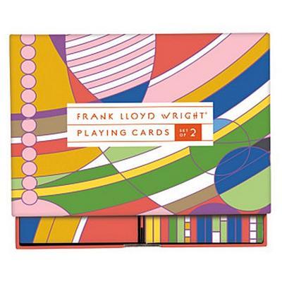 Frank Lloyd Wright Playing Card Set