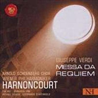 Verdi: Messa da Requiem - Rca Red Seal (Sony Music) - Audio CD, Latein, Giuseppe Verdi, Mit dem Arnold Schönberg Chor u. d. Wiener Philharmonikern. Liveeinspielung, Mit dem Arnold Schönberg Chor u. d. Wiener Philharmonikern. Liveeinspielung
