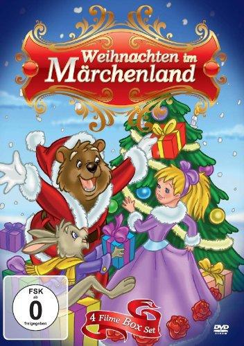 Weihnachten im Märchenland, 4 DVDs