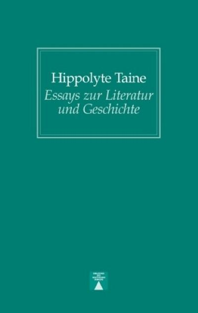 Essays zur Literatur und Geschichte