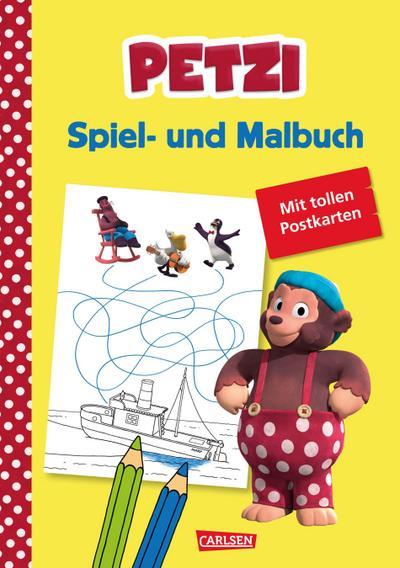 Petzi: Spiel- und Malbuch; zur Fernsehserie; Deutsch; farbig illustriert; Keine Altersbeschränkung