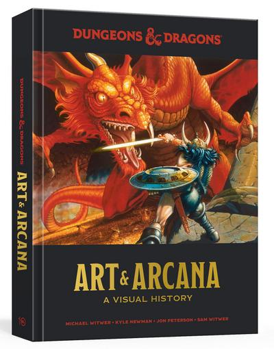 Dungeons and Dragons Art and Arcana