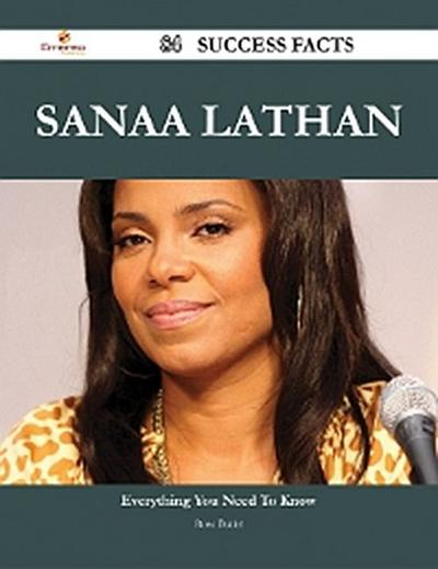 Sanaa Lathan 84 Success Facts - Everything you need to know about Sanaa Lathan