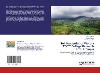 Soil Properties of Woreta ATVET College Research Farm, Ethiopia
