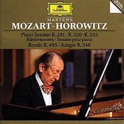 Mozart: Piano Sonatas K.281, K.330 & K.333, Rondo K.485, Adagio K.540