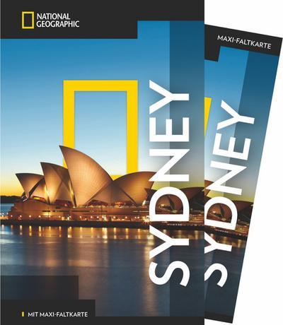 NATIONAL GEOGRAPHIC Reiseführer Sydney mit Maxi-Faltkarte; NG_Traveller; Deutsch