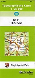 Dierdorf 1 : 25 000