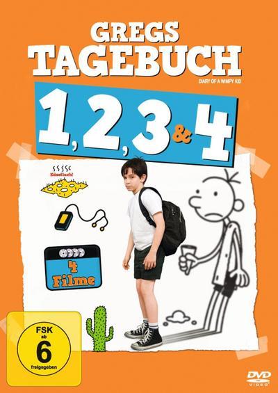 Gregs Tagebuch 1-4