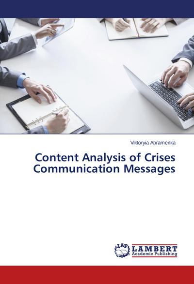 Content Analysis of Crises Communication Messages