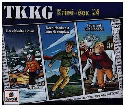 TKKG - Krimi-Box 24 (Folgen 190, 191, 192)